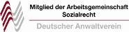 Mitglied der Arbeitsgemeinschaft Sozialrecht